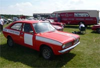 Abingdon Morris Marina Rally Car