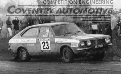 Marina Rally Car